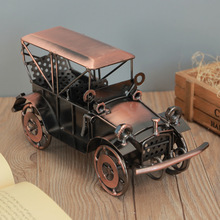 Classical alloy classic car model artwork Indoor living room desktop home decoration ornaments