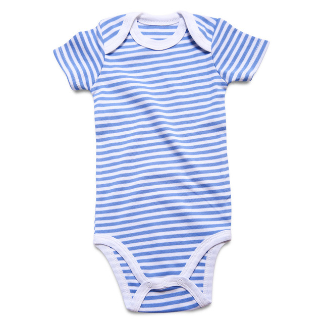 5c7a5b0e162 Next Baby Boy Girl Clothes Newborn Baby Body Suits 100% Cotton Striped Short  Sleeve Children Clothing Infant Jumpsuits 0-12M