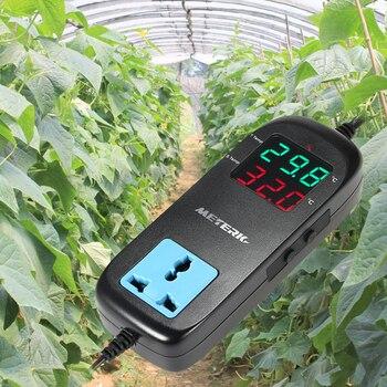 Meterk Elektronische Thermostat Led Digitale Temperaturregler Zucht