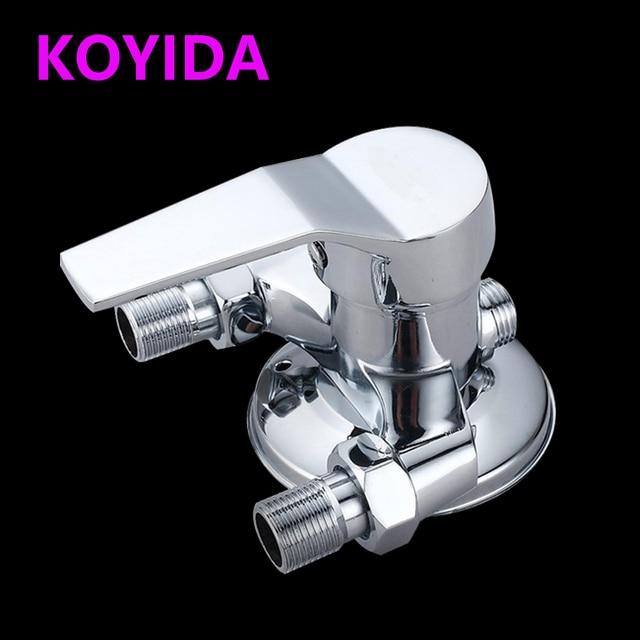 KOYIDA boiler regelklep Messing Badkamer Douchekraan chrome Hot ...