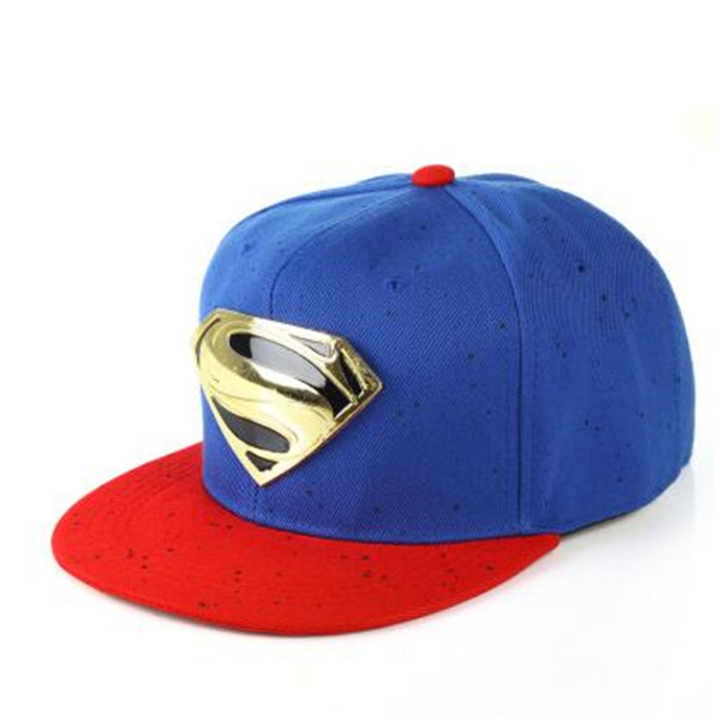 Unisex Men Women Adjustable Snapback Hat Superman Dance Hip hop Baseball Cap-in  Baseball Caps from Men s Clothing   Accessories 8a766ef4c9ed