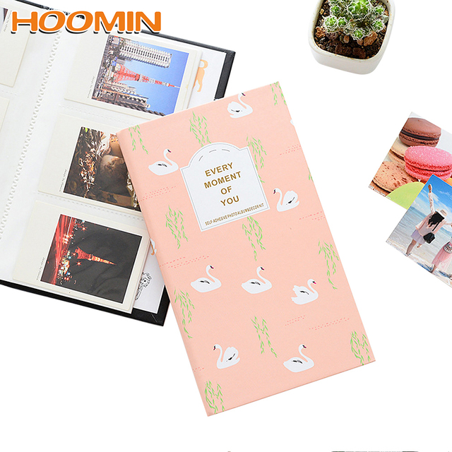 HOOMIN мини мгновенный альбом фото карты чехол для хранения для Fujifilm, Polaroid фото Instax Мини плёнки изображение 84 карманов креативный подарок