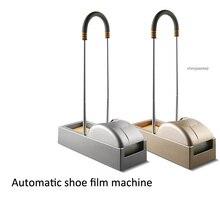 Полностью автоматическая машина для покрытия туфель для дома и офиса, одноразовая пленка для обуви, 600 шт, чехол для обуви, подходит для всех видов обуви