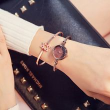 Luxury Women Bracelet Watches Rose Gold