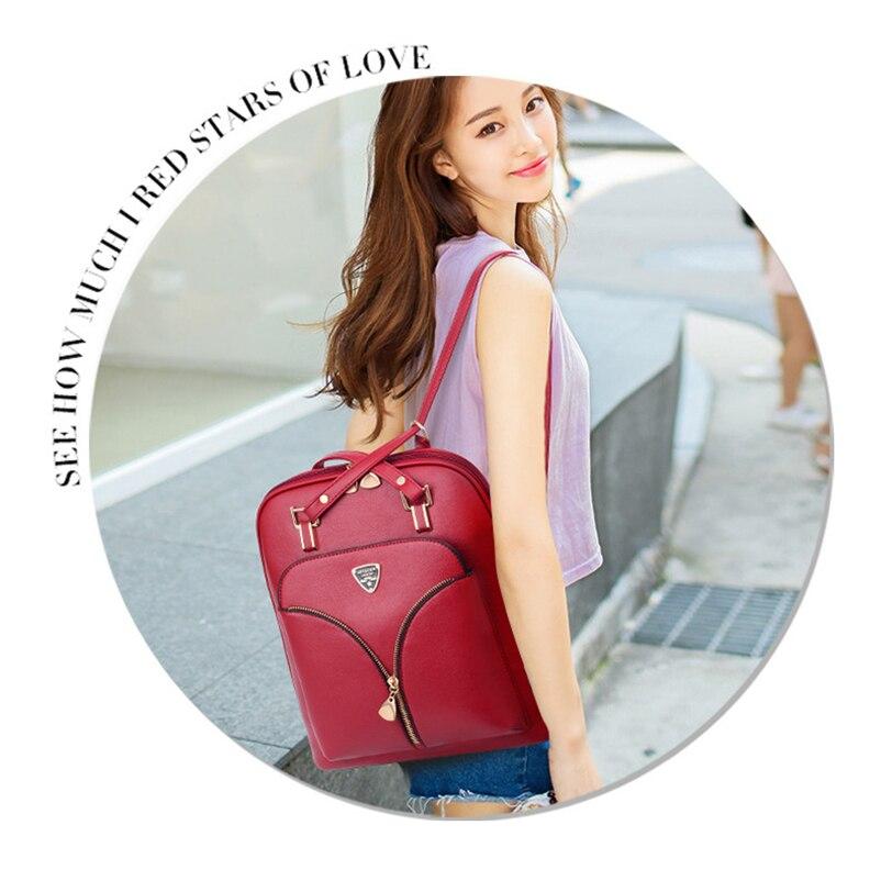 HTB1RHFPuiOYBuNjSsD4q6zSkFXac Nevenka Anti Theft Leather Backpack Women Mini Backpacks Female Travel Backpack for Girls School Backpacks Ladies Black Bag 2018