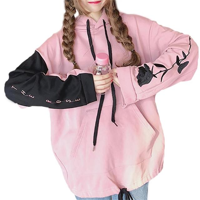 b8978210d Aliexpress.com   Buy Harajuku Autumn Korean Version Hoodie Women ...