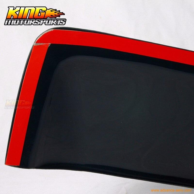 Fits 97-01 Toyota Camry V50 Sedan 4Dr Rear Roof Window Visor Spoiler