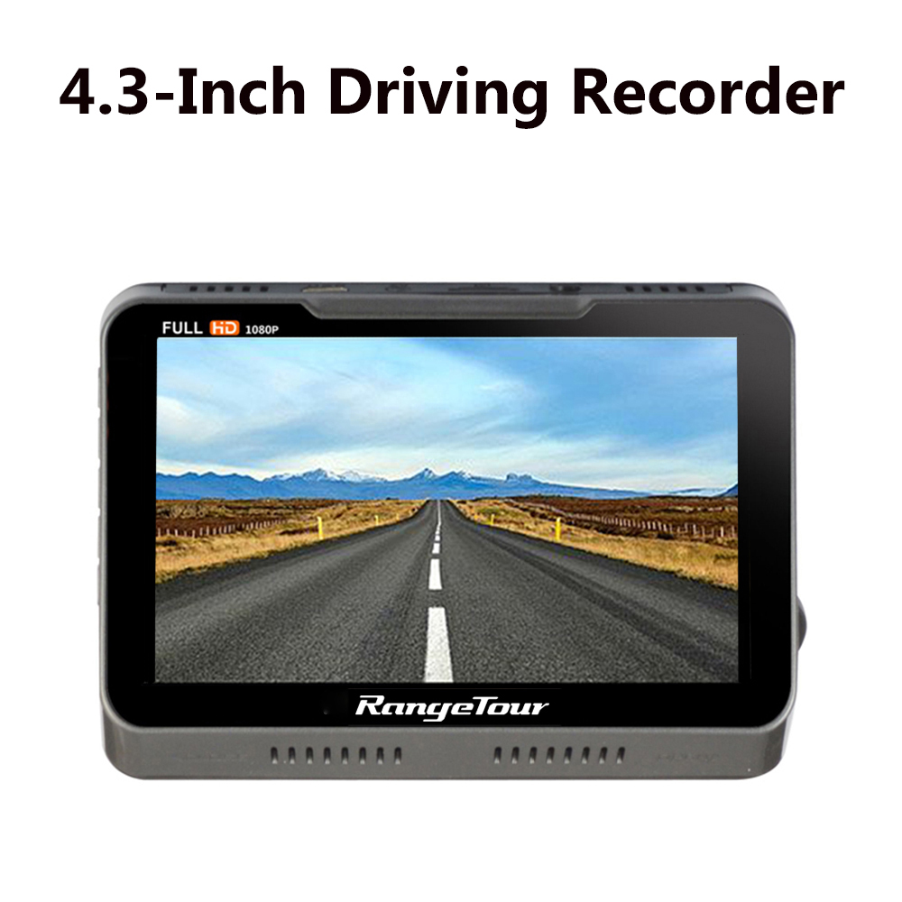 Full HD 1080P Dash Cam + Rear Camera Video Recorder Dashboard 170 Degree 4.3 LCD B90s Plus Dual Lens 2018 New Car Camera DVR