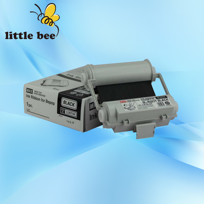 ink ribbon SL R101T Black for MAX sign making machines Bepop PM 100A CM 200E CPM