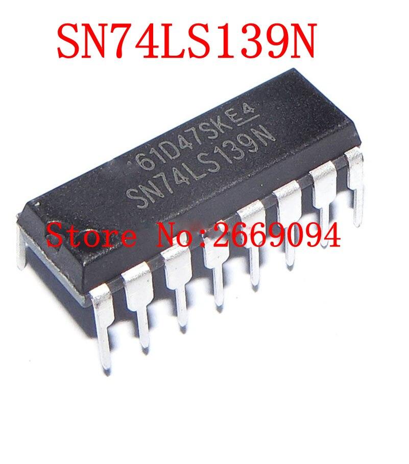 SN74LS139AN SN74LS139N INTEGRATED CIRCUIT DIP-16 74LS139