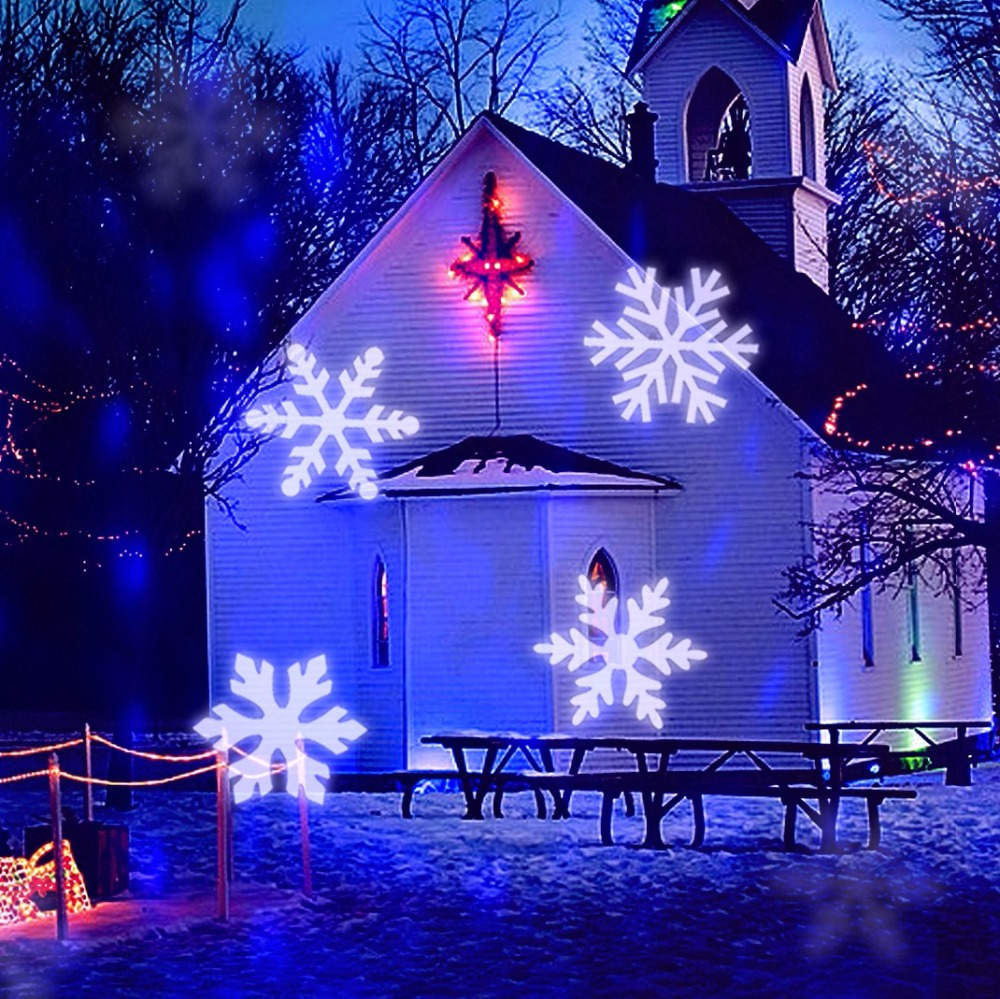 Aliexpress.com : Buy Outdoor Christmas Snowflake Falling LED ...