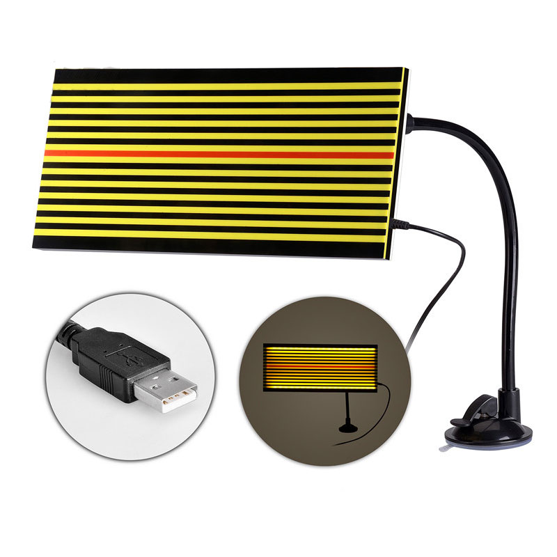 NEW PDR LED Line Board Led Dent Reflection Board Lamp Paintless Dent Removal Tools PDR Light Board Yellow High Quality pdr tools dent removal car dent repair led lamp reflector board led light reflection board with adjustable holder