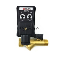 1pc 1 2 DC24 AC220V 1 6Mpa Electronic Drain Valve Timed Air Compressor Gas Tank Automatic