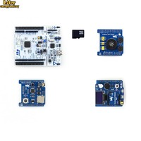 NUCLEO F401RE Package B=ST Original NUCLEO F401RE,STM32F401RE MCU+Accessory Shield+Analog Test Shield+Music Shield+Micro SD Card