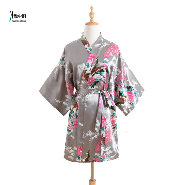 Wholesale Silk Wedding Robes High Quality Negligee New Dressing ...