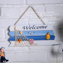 For dec  oration finaning welcome door plate marine child home muons housing