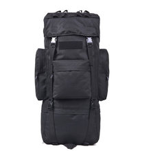 65L Military Army Tactical Molle Hiking Hunting Camping Backpack Rifle Backpack Bag Climbing Bags Outdoor Sports Travel Bag