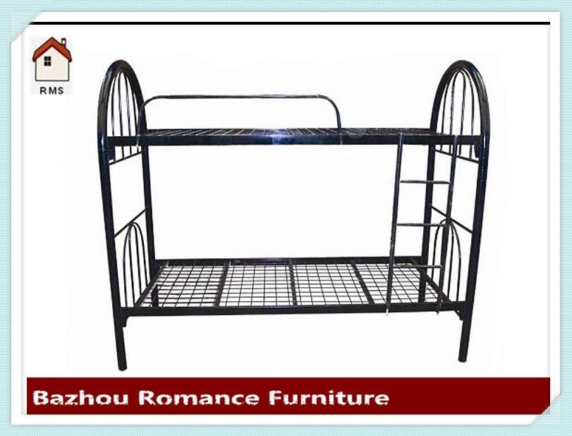 Precio barato para adultos de dos pisos de malla de metal marco de ...