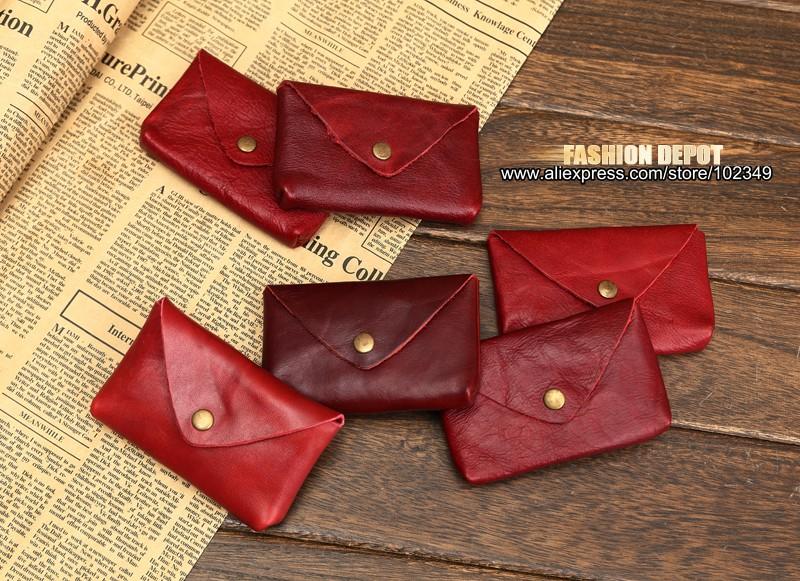 Vintage Genuine Leather Credit Card holder 19991# (11)