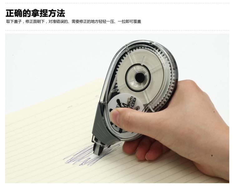 rolo 30m longo branco adesivo estudo escritório papelaria ferramenta act52801