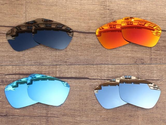 3f6144877b742 PapaViva POLARIZADA óculos de Sol de Lentes de Reposição para o Júri 100%  UVA