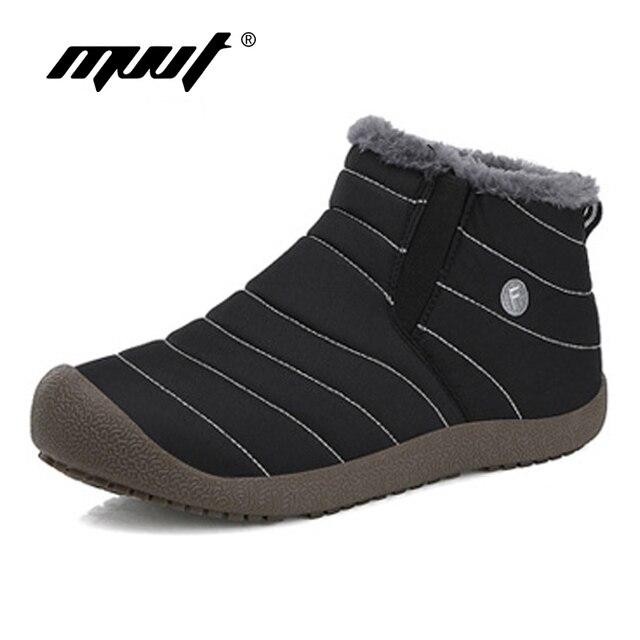 Super Warm Männer Winter Stiefel Wasserdicht Regen Stiefel Schuhe Neue Paar Ankle Schnee Stiefel Masculina bota