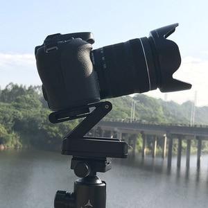 Image 5 - Camera Flex Tripod Z Pan Tilt Ballhead Aluminum Folding Tripod Bracket Ball Head Solution Universal for Canon/Nikon for iPhone