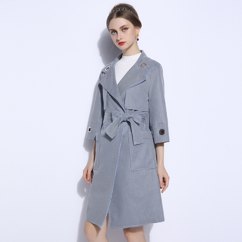34c0aa74be7 Runway 2018 Women Coat Plus Size 5XL British Style Elegant Jacket Spring  Fall Womens Long Windbreaker Big Coats Jackets Cape-in Trench from Women s  Clothing ...