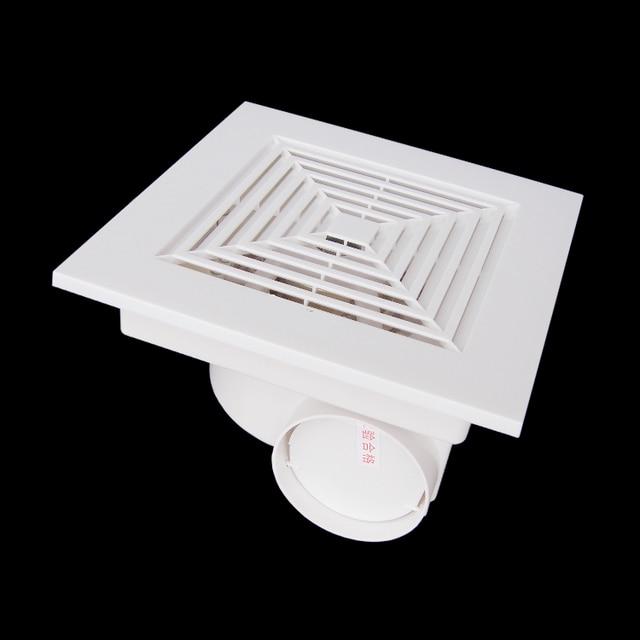 Plastic ventilation fan for ceiling bathroom fan living for 6 bathroom roof vent