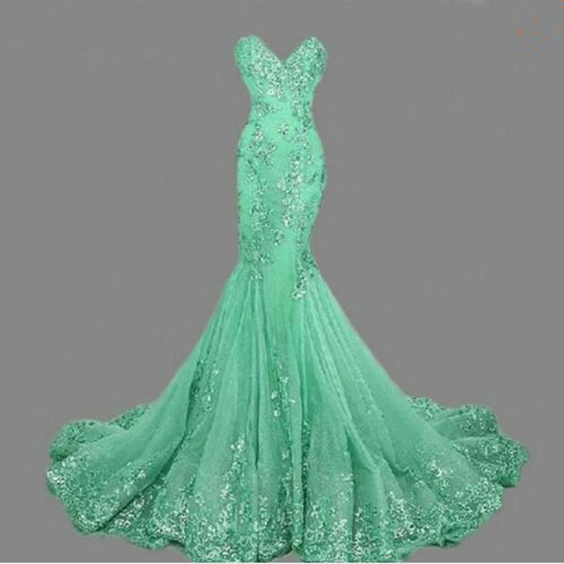 vestido de festa Luxury Evening Gowns Sweetheart robe de soiree Gold Sequins Mermaid Evening Dresses Long 2019 Best Selling