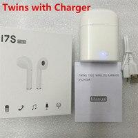 Mini Bluetooth Headphone Twins I7S Stereo Phone Earphone Wireless Earbuds With Mic For Apple IPhone 8