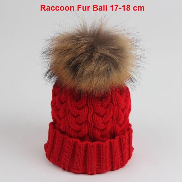 Marca Real 2015 Mujeres Del Invierno Sombreros Caramelo Beanie Gorros  Tejidos Crochet Sombrero de piel de 58b01c1cf46