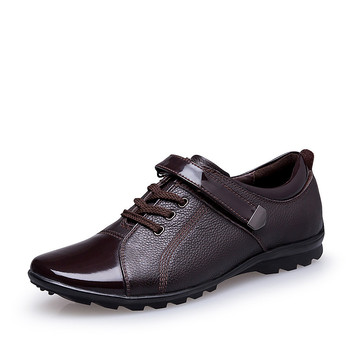 28-67 Patent Leather Men Oxfords For Men Dress Shoes Formal Plus Size High Quality
