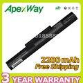 Apexway vgp-bps35 vgp-bps35a 7.2 v 2200 mah 4 células bateria do portátil para sony vaio fit 14e série 15e
