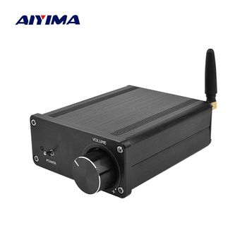 AIYIMA Mini TPA3116 Amplificador Bluetooth Audio Amplifier Class D HIFI Digital Power Amplifiers Professional DAC Stereo Amp aiyima aptx qcc3008 bluetooth 5 0 amplificador audio amp tpa3116 hifi power amplifier 50wx2 100w 2 1 channel subwoofer amplifier