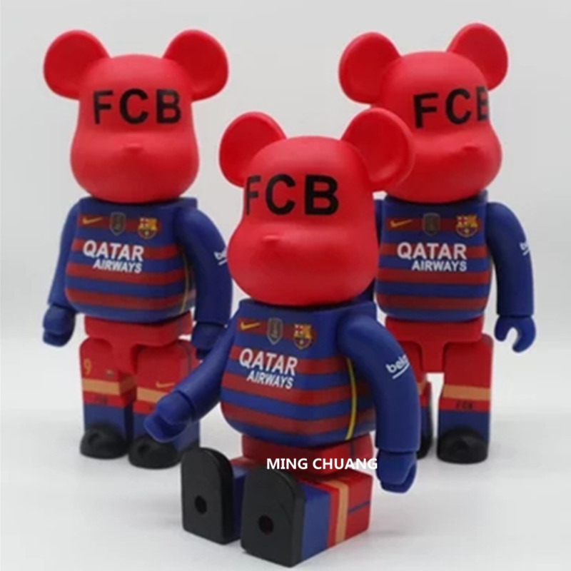 11 Inches Be@rbrick 400% Bearbrick SOCCER Gloomy BB PVC Art Craft Action Figure Collectible Model Toy D216
