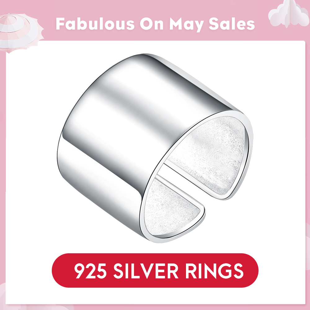 Customisable So Chic Jewels Stainless Steel Square Signet Ring Your Message Engraved Free