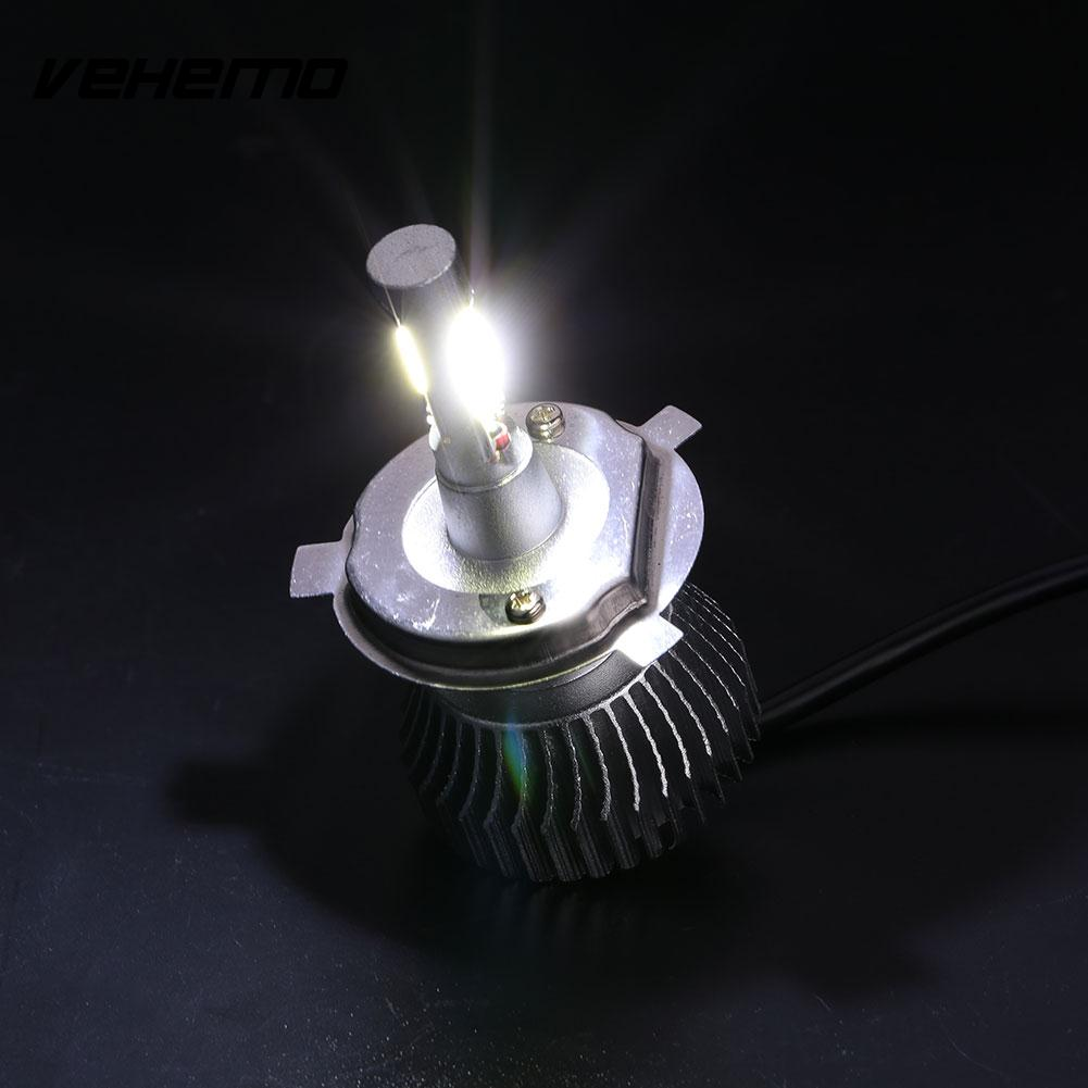 2pcs 1100LM H4 Vehicle Car LED Light Headlight Hi/Lo Beam Bulb Lamp Kit