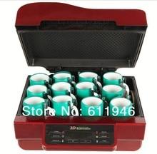 3D Sublimation Heat Press Machine Multifunctional Mug Cup Preser Phone Case 3D Vacuum Heat Transfer Machine