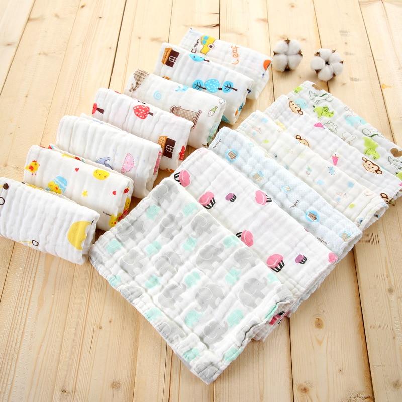 Fashion Car Bus Cartoon Cute Lovely Pattern Small Square Handkerchief Towel For Baby Newborn Kids Children FS0586