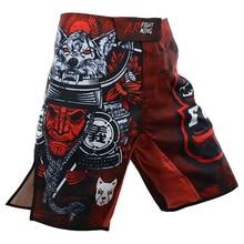 Ниндзя ММА Технические характеристики Сокол шорты для кикбоксинга спортивные тренировочные соревнования Шорты Муай Тай боксерские штаны ММА шорты