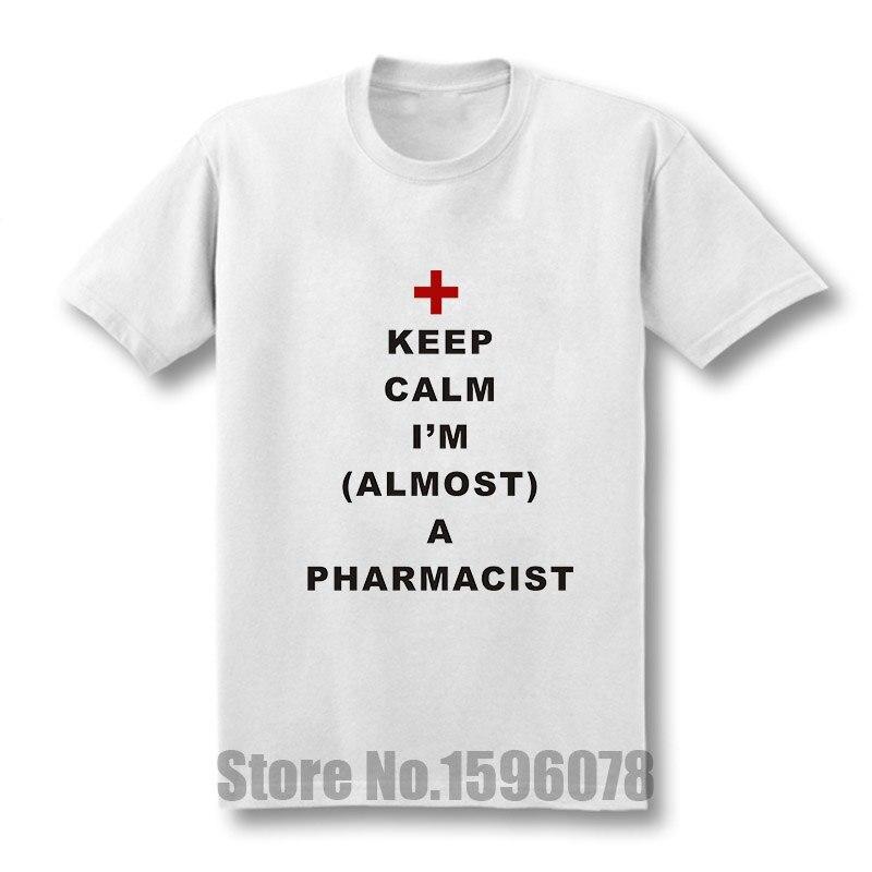 Pharmacist T Shirt Customized Short Sleeve S-3xl Slim Graphic Comical Spring Kawaii Shirt T-shirts Men's Clothing
