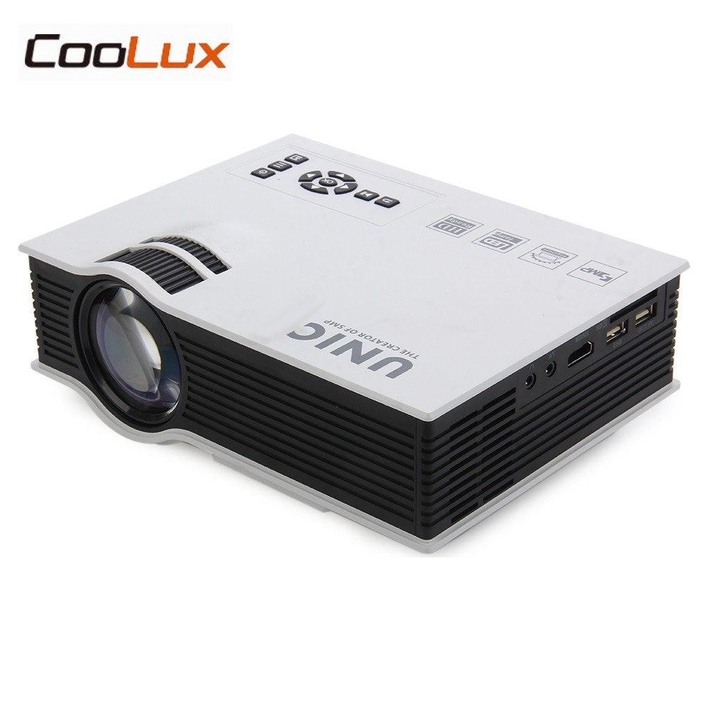 UC40 Plus LED Mini Projector Full HD 1080P 800 lumen Home Theater Beamer Proyector with HDMI AV SD VGA uc40 55whd 1080p mini home 1080p led projector 50lm w hdmi av sd usb