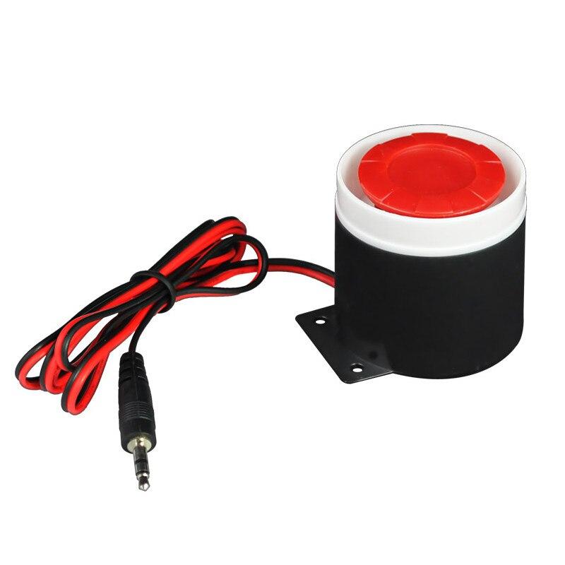 bilder für 120db Mini Verdrahtete Sirene Horn DC 12 V für WIFI PSTN GSM Hause Alarm Security System Bürogeschäft Schutz sensoren