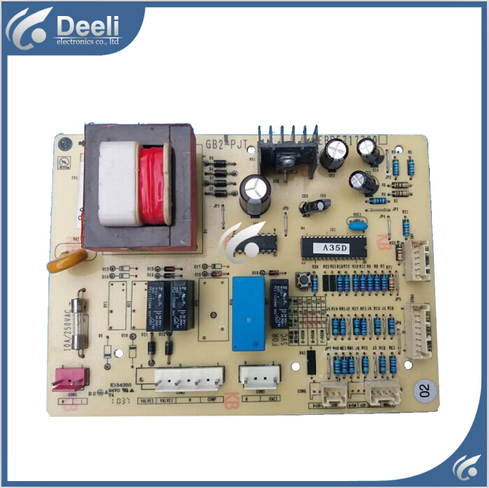 95% new used for refrigerator Computer board GB2-PJT EBR5717720 good working wire universal board computer board six lines 0040400256 0040400257 used disassemble