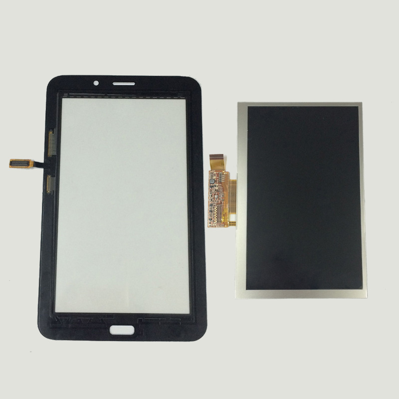 Black LCD Display Monitor Screen + Touch Screen Panel Digitizer Sensor Glass For Samsung Galaxy Tab 3 Lite 7.0 T116 SM-T116 free shipping touch screen with lcd display glass panel f501407vb f501407vd for china clone s5 i9600 sm g900f g900 smartphone
