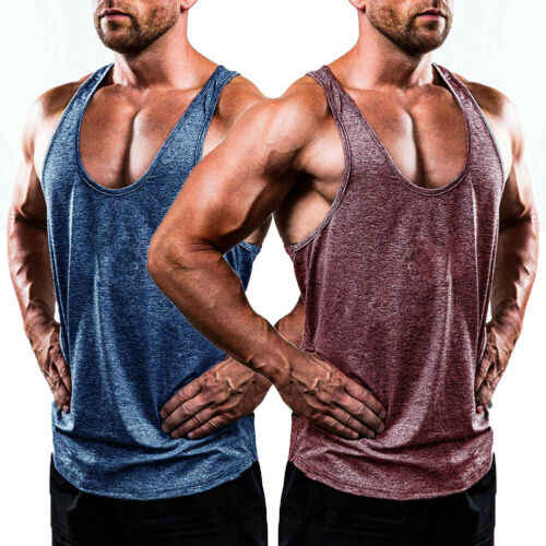 Neue Casual Baumwolle Gym Männer Muscle Sleeveless Tank Top T Shirt Bodybuilding Stringer Fitness Tank Top Workout Sport Fitness Weste