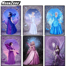 2018 New 5D DIY Diamond Angel girl Square Mosaic Embroidery Crafts Home Decor Gift set Full WYZ188149