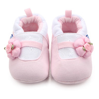 2017 New Newborn Baby Shoes Infant Shoes Winter Soft Cotton Baby First Walker Baby Shoes Girl