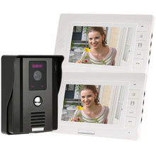 7″ Video Door Phone Intercom Doorbell Home Security System Rainproof IR Night Vision Camera Home Access Control System